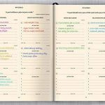 10-Minute Planner Agenda journalier, hebdomadaire et mensuel sans dates En anglais A5 Couverture rigide en cuir Avec calendrier 2018–2019 Citations de motivation et de productivité a5 Dusty Rose de la marque 10 Minute Planner image 2 produit