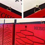 100 Pièces Image Cintre D Anneaux Cadre Photo Suspendus Crochets Cintres Toile Crochet Support Murale Cintre avec Vis En Acier Inoxydable Or de la marque Log-Cabin image 3 produit