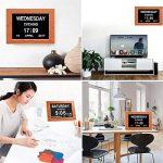 20,3cm Digital Jour Alarme pour personnes atteintes de démence Calendrier Grande Lettre pour Seniors 'Nice Cadeau de la marque Other image 3 produit