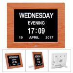 20,3cm Digital Jour Alarme pour personnes atteintes de démence Calendrier Grande Lettre pour Seniors 'Nice Cadeau de la marque Other image 4 produit