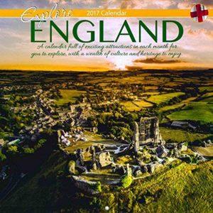 2017carré Angleterre Calendrier–photos de scènes Différentes autour d'Angleterre–0590Doré de la marque Tallon image 0 produit