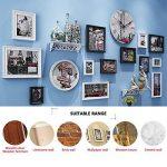 64 Pièces Ensemble de Picture Hangers, ZeWoo Crochets Cadre Photo Picture-Hanging Crochet pour Photos Suspendues de Maison et Bureau, Assorti de la marque ZeWoo image 1 produit