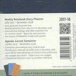 Agenda 18 mois semain 17-18 poche bleu saphir rigide de la marque Moleskine image 1 produit