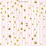 Agenda: 2018 Agenda semainier : 19x23cm : Bandes roses avec points dorés de la marque Papeterie Bleu image 1 produit