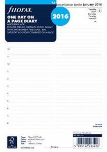 agenda filofax 2016 TOP 3 image 0 produit