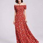Alisapan Robe de Femme Décontractée Imprimée Gracieuse AS07117 de la marque Alisapan image 3 produit