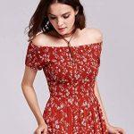 Alisapan Robe de Femme Décontractée Imprimée Gracieuse AS07117 de la marque Alisapan image 4 produit