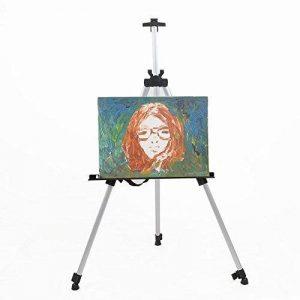 Amzdeal Chevalet réglable en alliage aluminium avec Sac de transport pour Peinture, Exposition de Menu, Chevalet de compagne pour Artiste, Peintre, Studio, Restaurant de la marque Amzdeal image 0 produit