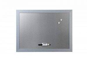 Bi-Office Blokko Tableau blanc magnétique avec surface argentée 600 x 450 mm de la marque Bi-OFFICE image 0 produit