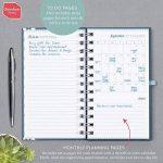 Boxclever Press 2018/2019 Pocket Life Book. Agenda scolaire, semainier de poche. Agenda journalier d'une page par semaine. S'étend de septembre 2018 à décembre 2019 de la marque Boxclever Press image 2 produit