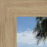 Cadre photo mural 40x80 cm / 80 x 40 cm cadre Naturel Beige, 3.5 cm de largeur, Cadre en bois de la marque RK Cadres image 2 produit