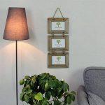 """Cadre pour 3 photos - à accrocher - en bois - 15,2 x 10,1 cm (6 x 4"""") de la marque Nicola Spring image 2 produit"""