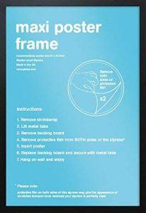 61x91.5cm Cadre Maxi Poster Noir GB eye