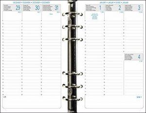 Exacompta - 18270E - Recharge Organiseur Exatime 17 Semainier Vertical 105x172 mm Septembre 2017 à Septembre 2018 [Ancien Modèle] de la marque Exacompta image 0 produit
