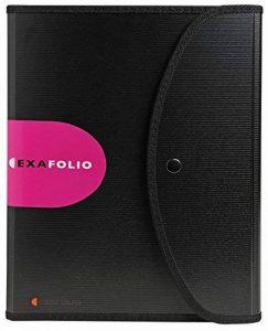 Exacompta - Réf. 55834E - Trieur Exafolio avec porte-bloc et valisette Exactive- 6 compartiments - noir de la marque Exacompta image 0 produit