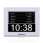 Excelvan DC8001 Horloge Calendrier avec Date Jour et Heure Non-Abrégée Auto Dimming de la marque Excelvan image 2 produit