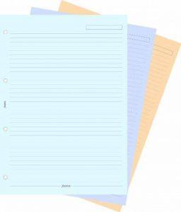 Filofax A4 Feuilles de Notes Lignées Coloris Assorties de la marque Filofax image 0 produit