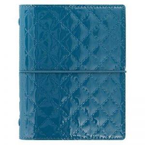 Filofax Domino Luxe Pocket bleu canard Classeur A7 Agenda 19mm PAGE 027993 de la marque Filofax image 0 produit