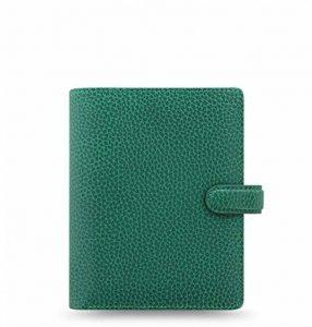 Filofax fins Bury Pocket Forest Green Organiser A7Cuir VL Agenda 025448 de la marque Filofax image 0 produit