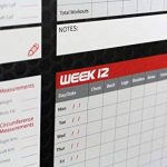 GymPad - Planning d'entraînement Fitness sur 12semaines, Noir, Taille A2, Unisexe de la marque GymPad image 1 produit