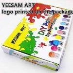 Kit de peinture aux numéros Yeesam Art - Pour adultes et enfants - Toile de lin avec coloriage du lion, de l'aigle, de l'éléphant - 40,6x 50,8cm, lion, With Frame de la marque YEESAM ART image 3 produit