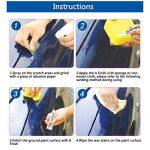 Kit de Réparation de Peinture Auto Tiny Scratches Removal Kit de Maintenance de Voiture Auto(Agent de Réparation de Rayures,Cire de Peinture,Papier Poli,Serviette,Textile non-tissé) de la marque sweetlife image 4 produit
