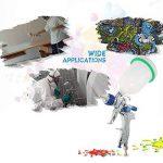 KKmoon 601 Airbrush Kit HVLP Pistolet de Pulvérisation d'Air Gravity Feed Peinture Pulvérisateur Air Brush Set Acier inoxydable 1.4mm 1.7mm 2.0mm Buse Auto Peinture de Détail de Voiture de la marque KKmoon image 4 produit