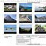 La Corse ile de beauté : Calendrier de photos sur la Corse. Calendrier mural A4 horizontal 2016 de la marque Nadine Capellaro image 1 produit