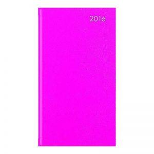 Lett de principal de 2016semainier, Framboise, 16,8x 8,3cm (Cp3sury-16) de la marque Letts image 0 produit