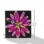 Letts 16–030157p Agenda scolaire 12mois Desk Square Tattoo, 1semaine sur 2pages, 2015–2016, Flower de la marque Letts image 2 produit
