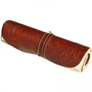 """Livret de luxe indiary - En cuir fin à l'extérieur - Papier puisé à la main à l'extérieur """"brown-Coil"""" de la marque indiary image 0 produit"""