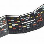 Nobo Mini-planning à fiches T indice 1.5/4 volets et 17 fentes de la marque Nobo image 3 produit