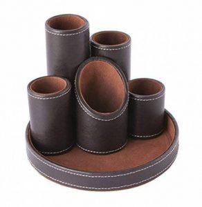 organiseur cuir marron TOP 1 image 0 produit