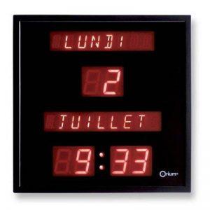 LED horloge num/érique mise /à niveau version 8888 horloge murale peut ajuster la luminosit/é de la LED automatiquement