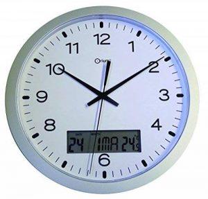 Orium 11581 Pendule Quartz à Date ABS Argent Diamètre 30 cm de la marque Orium image 0 produit