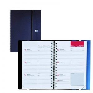 Oxford 100735361 Office Agenda Civil Semainier Spiralé Année 2019 10 x 15 cm Bleu de la marque Oxford image 0 produit