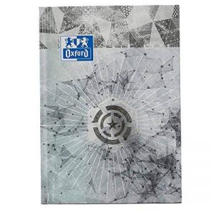Oxford Metal Agenda Scolaire Journalier 2018-2019 1 Jour Page 352 Pages 15x21 Gris de la marque Oxford image 0 produit