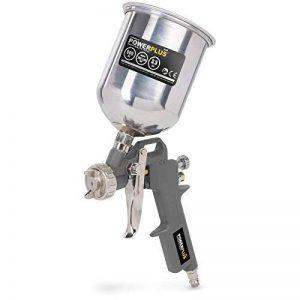 pistolet pulvérisateur haute pression fourniture de couleur par gravité - pistolet de pulverisation godet haut 400cc - POWAIR0105 de la marque VARO image 0 produit