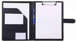 Porte Documents Porte Bloc A4 , Bloc Note a4 Range Documents Porte-bloc, a4 Organiseur Trieur Portfolio ( noir ) de la marque Mymazn image 0 produit