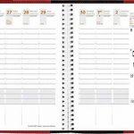 Quo Vadis - Agenda Semainier Time & Life Pocket Rouge - 10x15 cm - Août 2018 à Août 2019 de la marque Quo Vadis image 1 produit