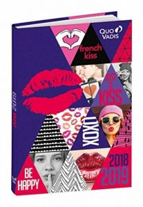 Quo Vadis Love & Peace EUROTEXTAGENDA Agenda scolaire Journalier 12x17cm Année 2018-2019 de la marque Quo Vadis image 0 produit