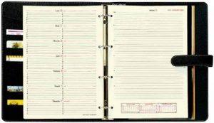 Quo Vadis Recharge TIMER 29 NOTES Organiseur de bureau Semainier 21x29,7cm Année 2018-2019 de la marque Quo Vadis image 0 produit