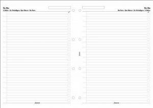recharge filofax a4 TOP 3 image 0 produit