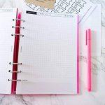 Recharge JOUR pour Planner A5. Compatible classeurs 6 trous type Filofax. Parfait pour faire les dailies de votre BUJO. de la marque journaling.fr image 1 produit