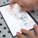 Rocketbook Everlast Cahier/Agenda intelligent réutilisable - Grande format (A4 / Letter) - Spirales Bloc Note - n'achetez plus jamais un autre cahier - Stylo gratuit de la marque Rocketbook image 3 produit