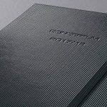 Sigel C1801 Agenda Semainier 18 mois 2017/2018 CONCEPTUM, couverture rigide, 14,8 x 21,3 cm, noir de la marque Sigel image 1 produit
