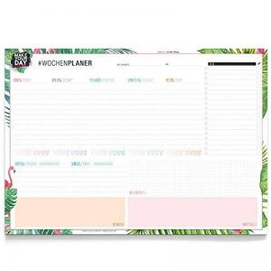 Sous-main Label Factory, Agenda semainier A3, Liste de tâches, sous-main A3. A3 / 42 x 29,7cm bunt de la marque the Label Factory by favlov image 0 produit