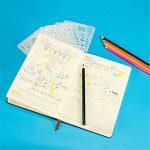 Swesy 24pièces DIY Dessin modèles Bullet Journal Pochoirs–Plastique Planning Pochoirs Dessin Ensemble de modèles pour ordinateur portable, Agenda, scrapbooking style 1 de la marque image 3 produit