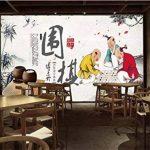 Tantoto Fond D'Écran 3D Plat Fond Papier Peint Chinois Moderne Salon Canapé De Grandes Murales Fond D'Étude Salon De Thé Des Rendez-Vous de la marque Tantoto image 2 produit