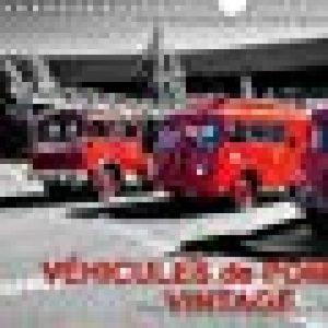 Véhicules de pompiers vintage : Exposition d'anciens véhicules de pompiers. Calendrier mural A4 horizontal 2016 de la marque Thierry Planche image 0 produit